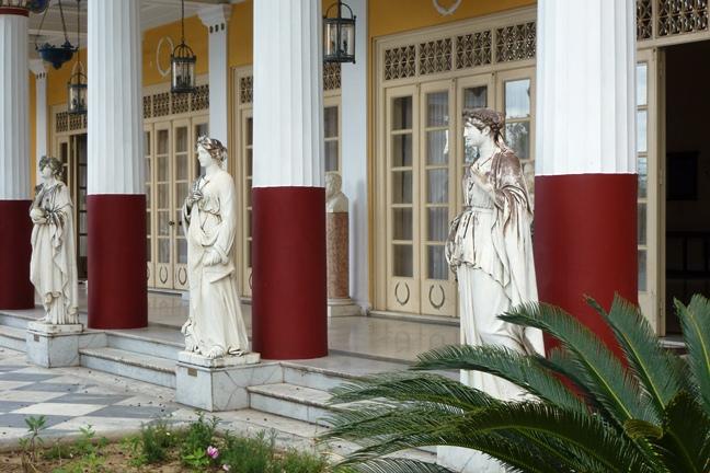 Achilleion, le palais de l'impératrice SISSI  P1030025