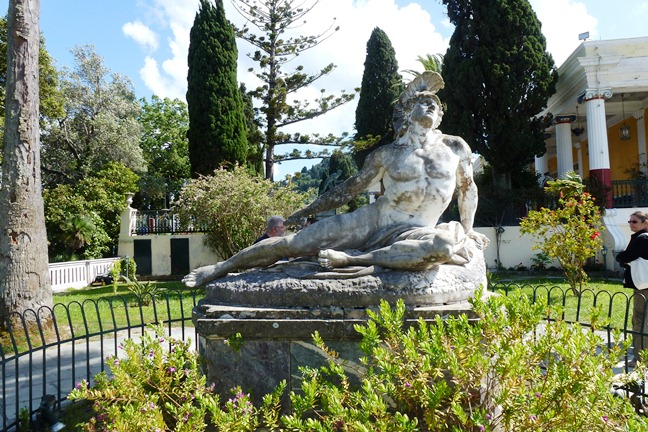 Achilleion, le palais de l'impératrice SISSI  P1030026