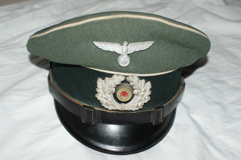 Schirmmutze d'infanterie 02111