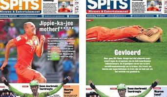 Un diario holandés y un cambio insólito de tapa 00139