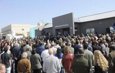 """Tandil: Scioli y Lunghi inauguraron el centro de salud mental y el sueño de """"Tita"""" ya es una realidad. 00175"""