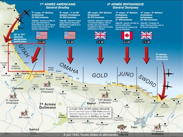70eme anniversaire 6 juin 1944 : debarquement sur Utah et Gold beach 5-img_11