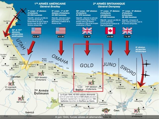 70eme anniversaire 6 juin 1944 : debarquement sur Utah et Gold beach 5-img_12