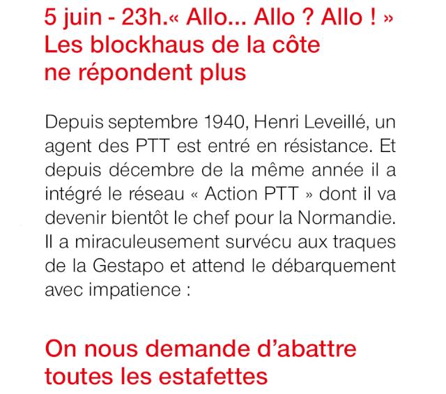 70eme anniversaire 6 juin 1944 : jour J la resistance en action... Img_0519