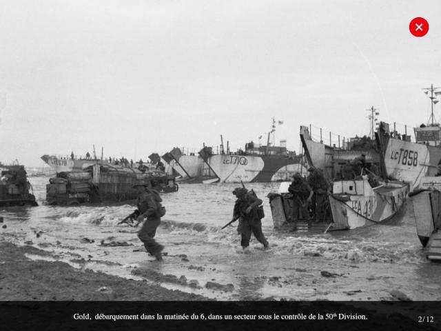 70eme anniversaire 6 juin 1944 : debarquement sur Utah et Gold beach Img_0634