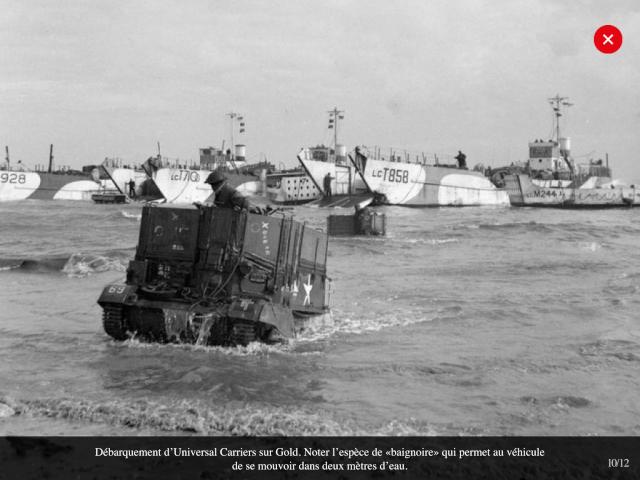 70eme anniversaire 6 juin 1944 : debarquement sur Utah et Gold beach Img_0635