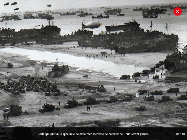 70eme anniversaire 6 juin 1944 : debarquement sur Omaha beach Img_0717