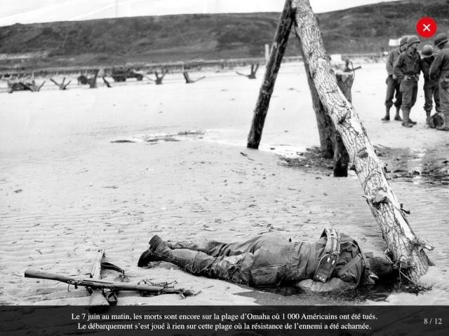 70eme anniversaire 6 juin 1944 : debarquement sur Omaha beach Img_0727