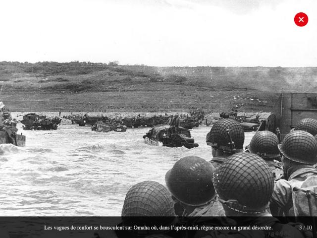 70eme anniversaire 6 juin 1944 : debarquement sur Omaha beach Img_0735