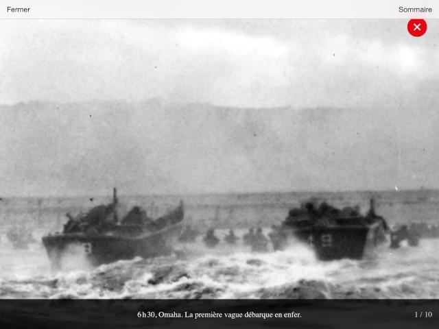70eme anniversaire 6 juin 1944 : debarquement sur Omaha beach Img_0736