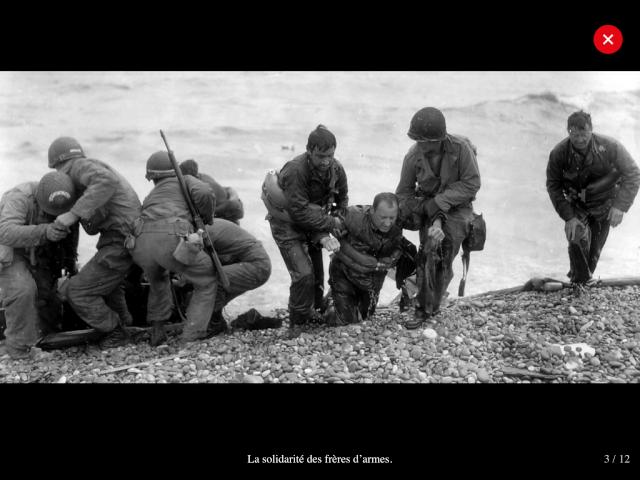 70eme anniversaire 6 juin 1944 : debarquement sur Omaha beach Img_0748