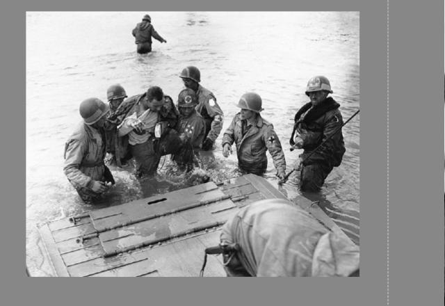 70eme anniversaire 6 juin 1944 : debarquement sur Omaha beach Img_0759