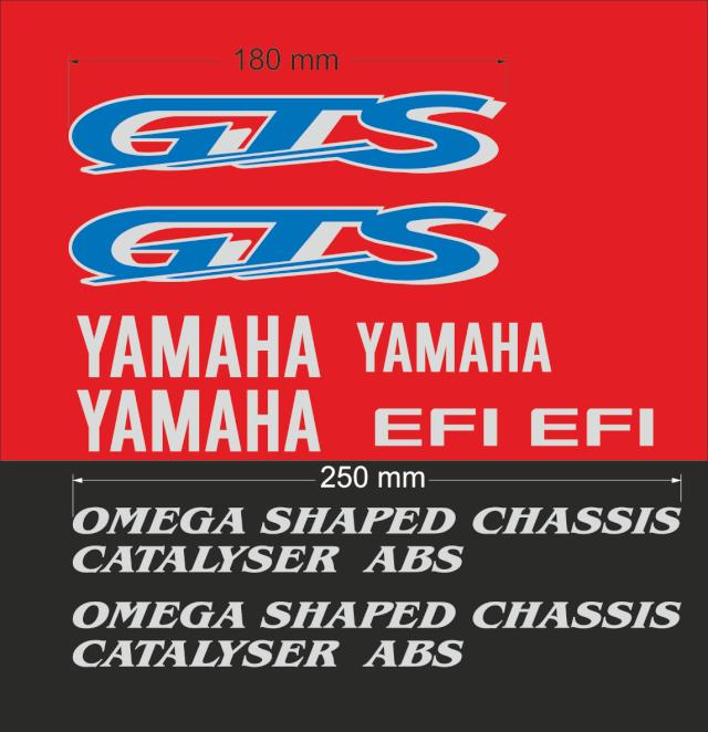 stickers GTS 1000, planche d'autocollant complète Planch10