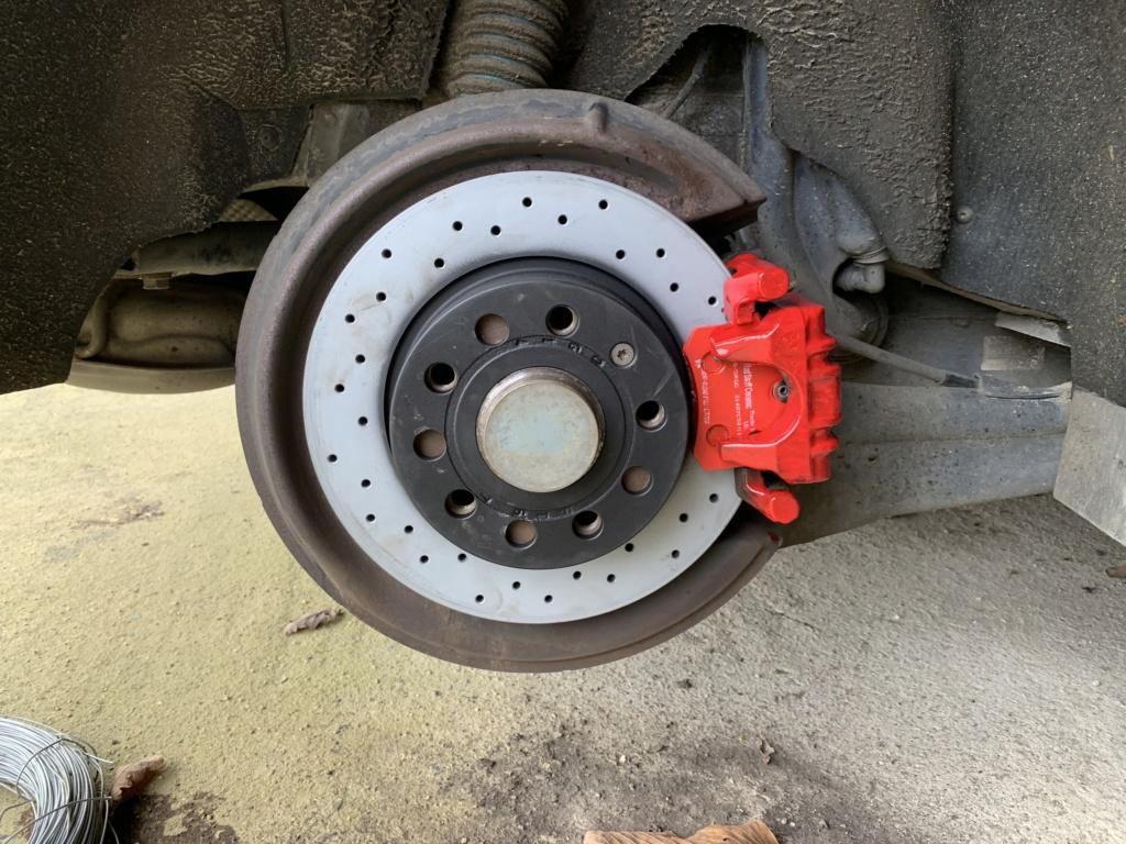 Changement disques et plaquettes de freins AV/AR Arrier12