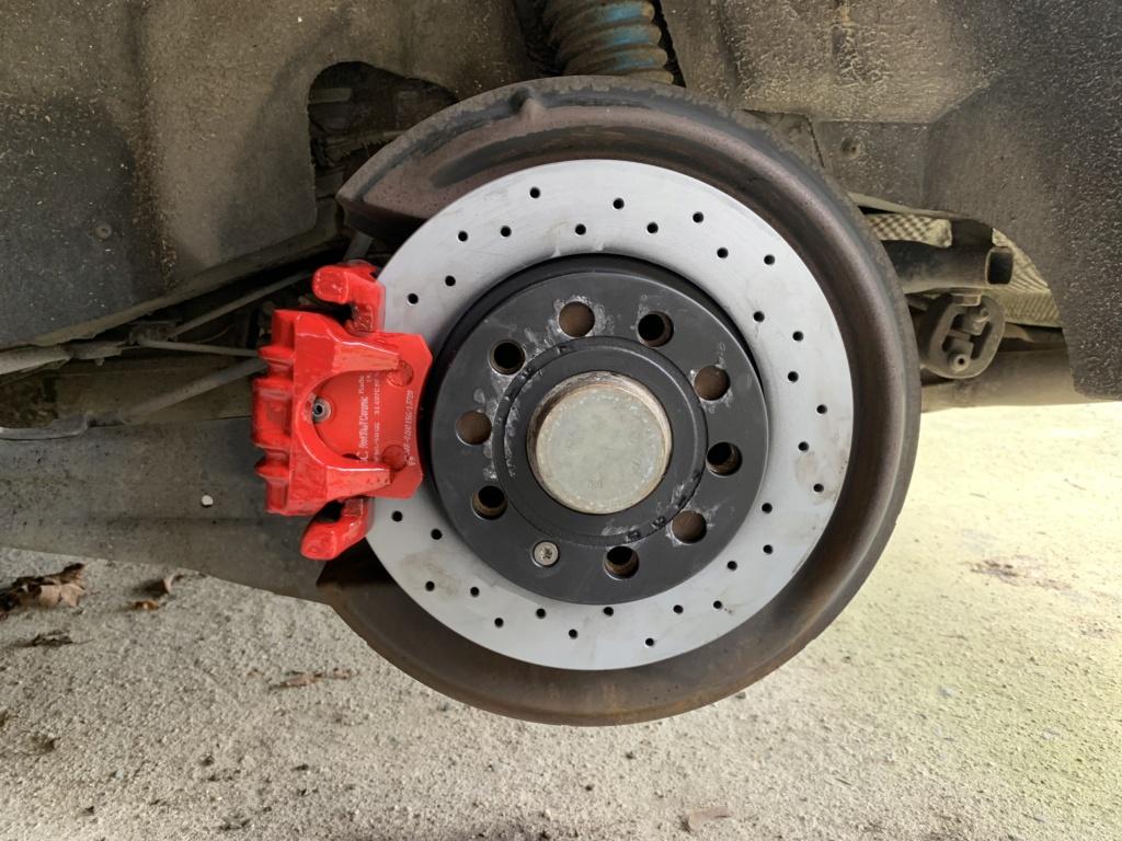 Changement disques et plaquettes de freins AV/AR Arrier16