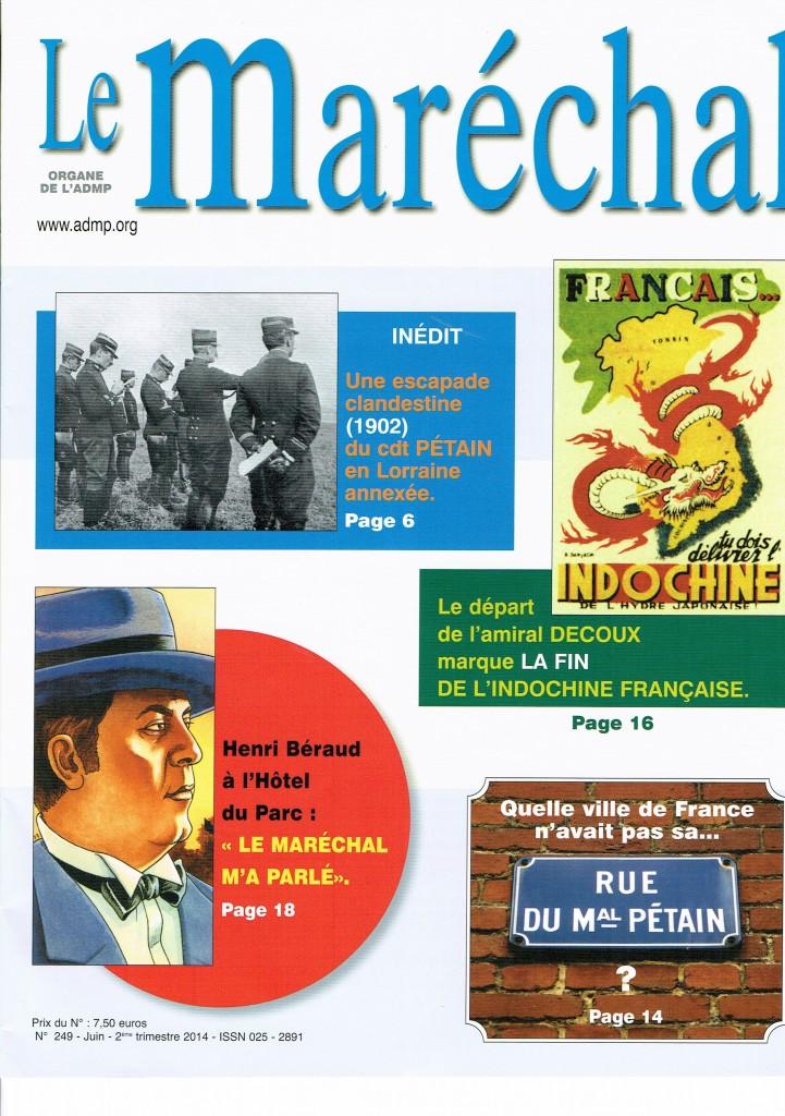 ADMP : Association pour la mémoire du Maréchal Pétain. Cci09010