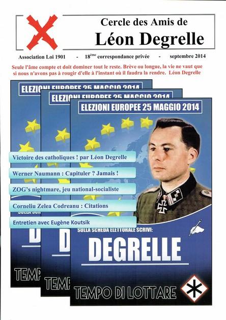 Cercle des Amis de Léon Degrelle. Cci15010
