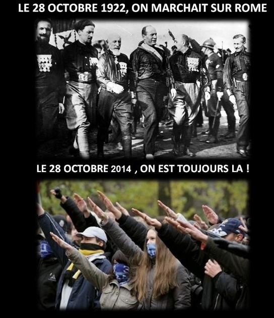 28 octobre 1922: La Marche sur Rome. Marche10