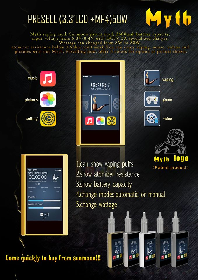 myth electro mod 10528310