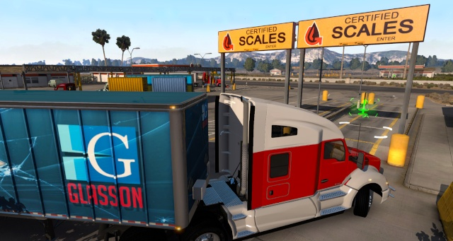 American truck simulator Ats_we11