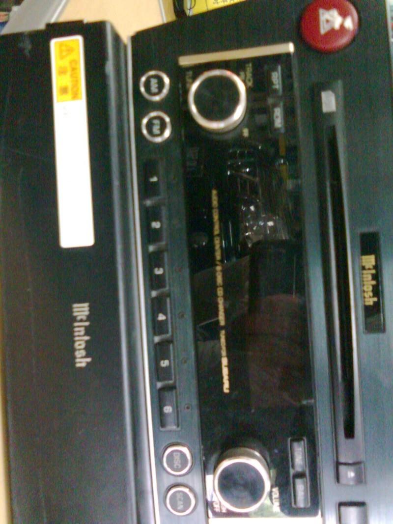 Mcintosh 6 disc head unit & power amp(used)sold Aa074310