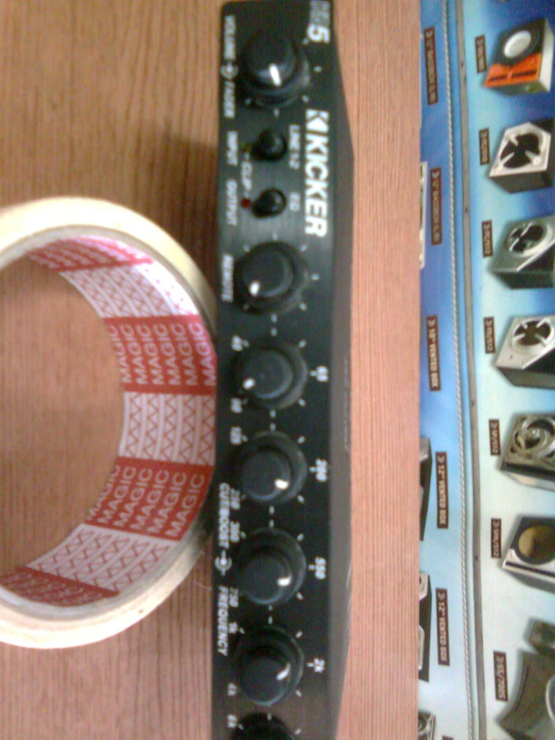 Kicker KQ5 pre-amp(new) sold K110