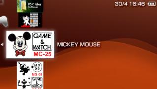 "8 Jeux Type ""Game & Watch"" Pour PSP Cb1b0d11"