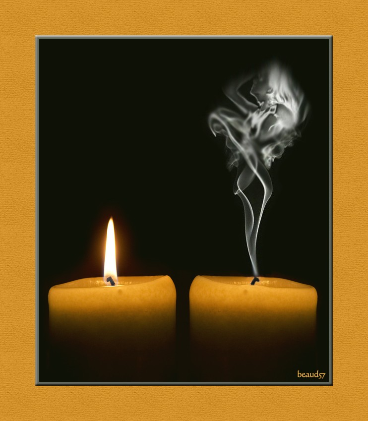Concours du mois de janvier 2011. Thème : La lueur d'une flamme Bougie10