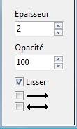 """3 : La boîte d'outils de photofiltre en détail """"Les outils"""" Trait10"""