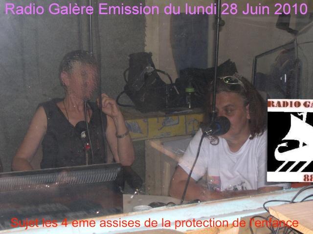 Emission sur la protection de l'enfance Sur Radio Galère Emissi10