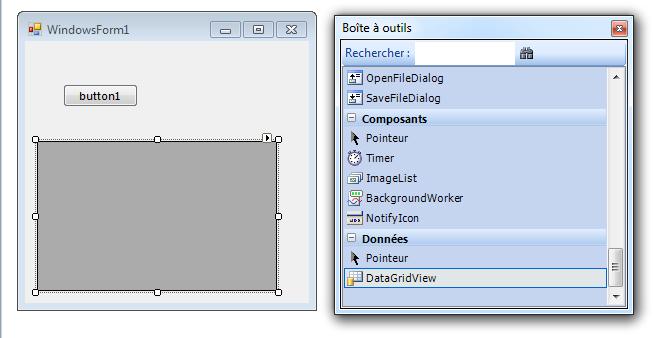 comment réaliser une table, pour une base de donnée a partir d'une fenêtre.szw Sans_t11