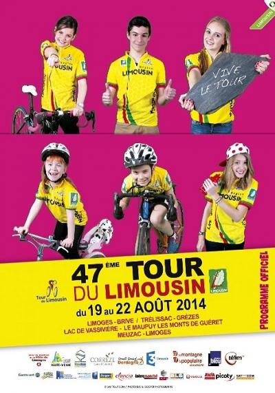 TOUR DU LIMOUSIN  --F--  19 au 22.08.2014 Limous14