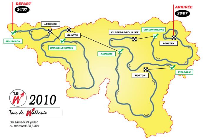 TOUR DE WALLONIE --Belgique-- 24 au 28.07.2010 Tw201010