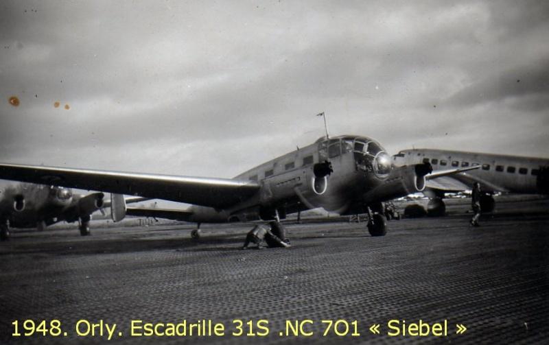 [Les flotilles et escadrilles] Escadrille 31 S Orly 1948 An2711