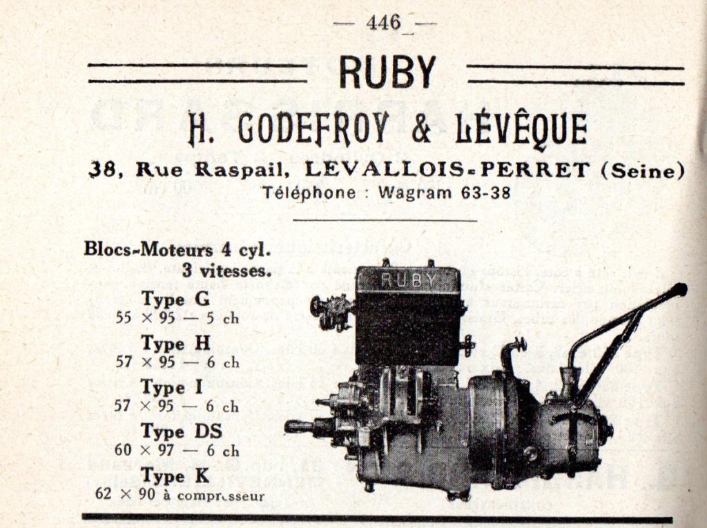 Moteur de cyclecar et voiturette - Page 8 Ruby10
