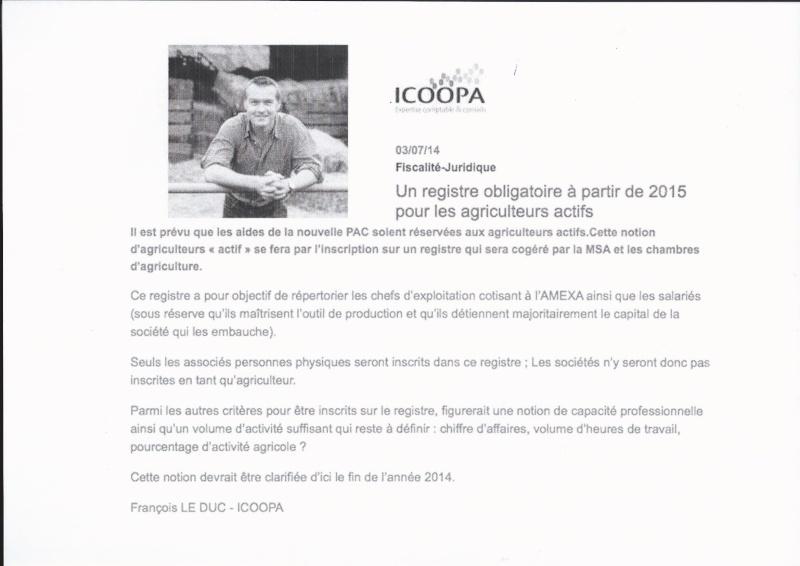 registre obligatoire 2015  intox ou info Agricu10