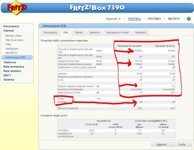 Fritz 7390 in sostituzione router fastweb - Pagina 2 739011