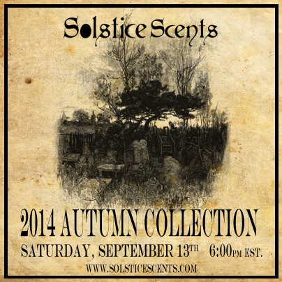 Autumn Collection Part 1 this Saturday 9/13 at 6 pm EST 2014au10