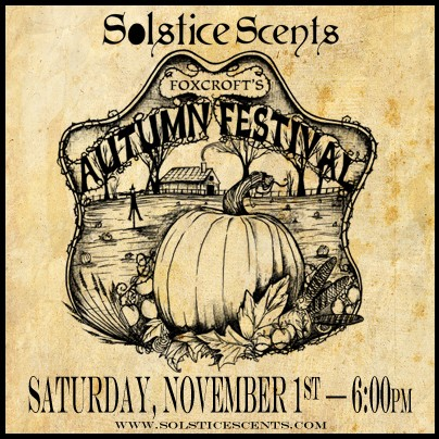 SOLSTICE SCENTS AUTUMN COLLECTION PART 2: TOMORROW AT 6 PM EST Foxcro12
