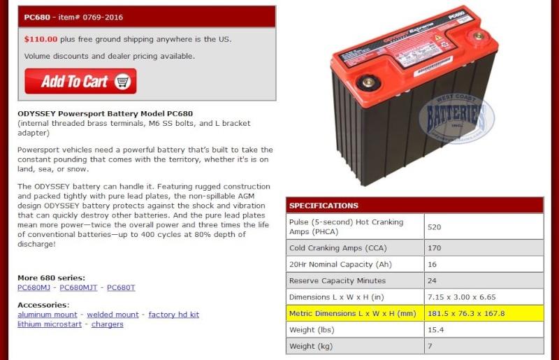 R80G/S 1986 dimension batterie Captur20