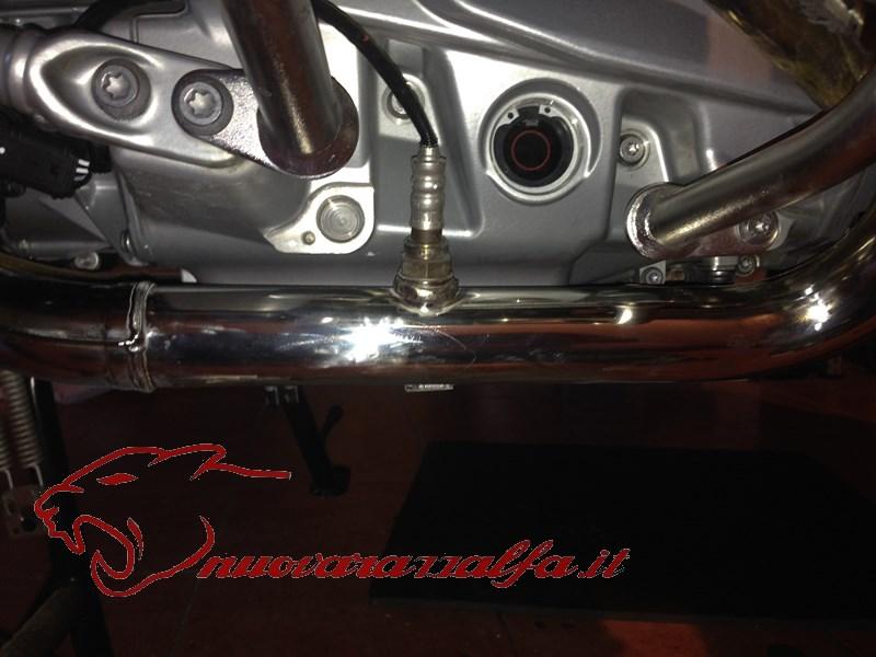 BMW K50 R1200GS LC Ripristino collettori di scarico, DETAILING. Max45035