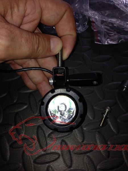 BMW K50 R1200GS LC Faretti aggiuntivi, montaggio M.Y.2014 Max45110