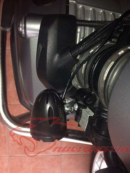 BMW K50 R1200GS LC Faretti aggiuntivi, montaggio M.Y.2014 Max45131