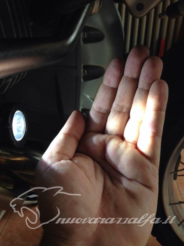 BMW K50 R1200GS LC Faretti aggiuntivi, montaggio M.Y.2014 Max45280