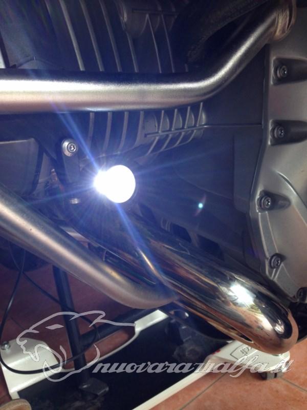 BMW K50 R1200GS LC Faretti aggiuntivi, montaggio M.Y.2014 Max45281