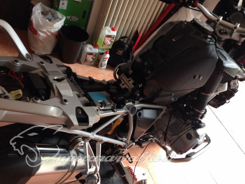 BMW K50 R1200GS LC Faretti aggiuntivi, montaggio M.Y.2014 Max45284