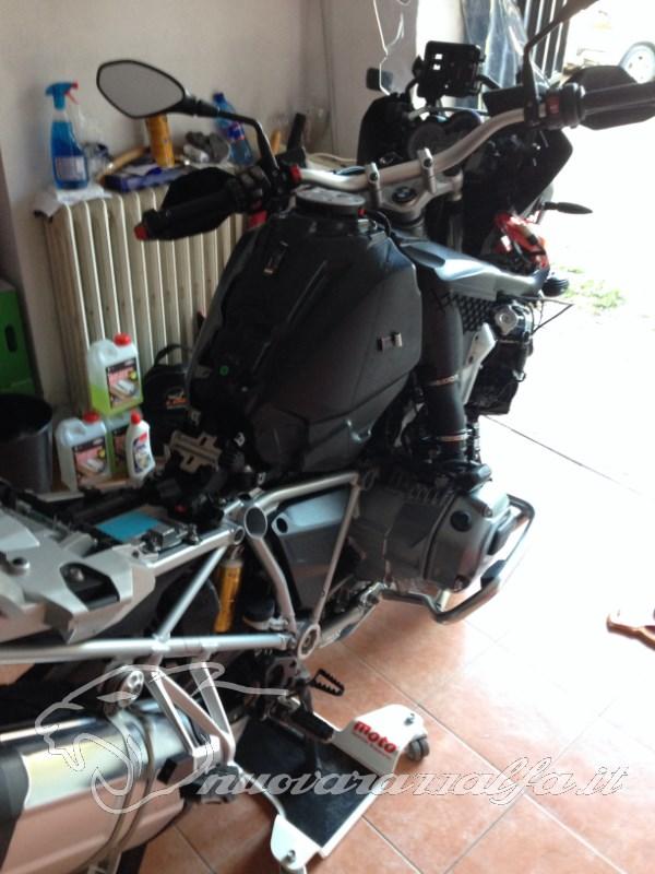 BMW K50 R1200GS LC Faretti aggiuntivi, montaggio M.Y.2014 Max45287