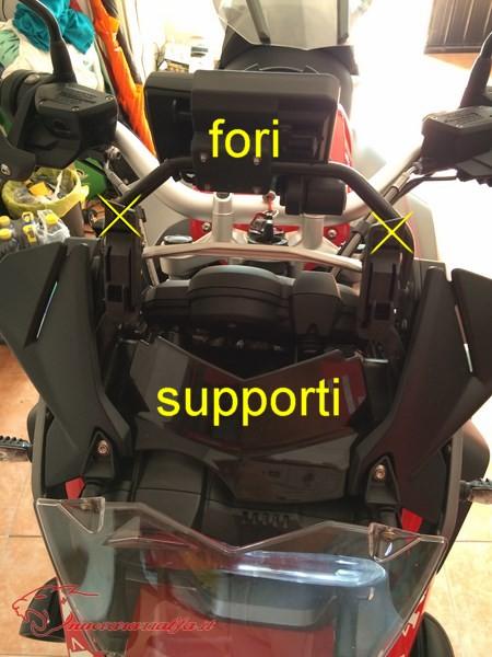 BMW K50 R1200GS LC Eliminare rigature cupolino m.y. 2014 Max45491