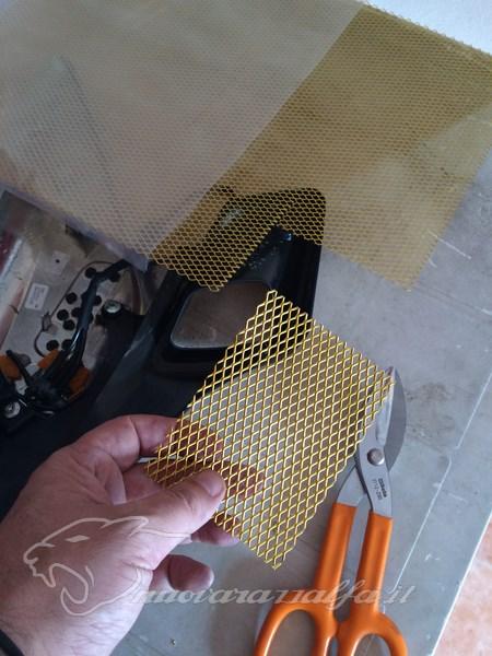 BMW K50 R1200GS LC Griglie protezione radiatori e snorkel. Max45521