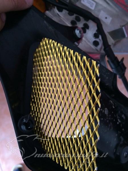 BMW K50 R1200GS LC Griglie protezione radiatori e snorkel. Max45522
